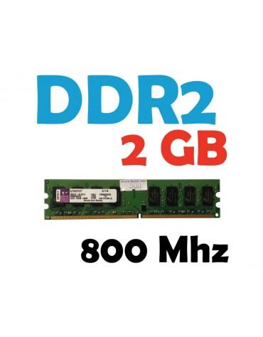 Memoria RAM 2 GB DDR2 800 Mhz PC2-6400 PC Varias