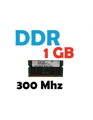 Memoria RAM 1 GB DDR 333 Mhz PC-2700 Laptop