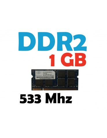 Memoria RAM 1 GB DDR2 533 Mhz PC2-4200 Laptop