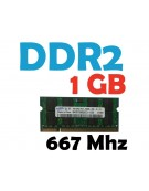 Memoria RAM 1 GB DDR2 667 Mhz PC2-5300 Laptop