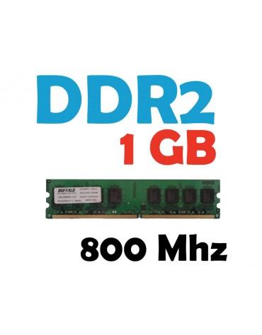 Memoria RAM 1 GB DDR2 800 Mhz PC2-6400 PC