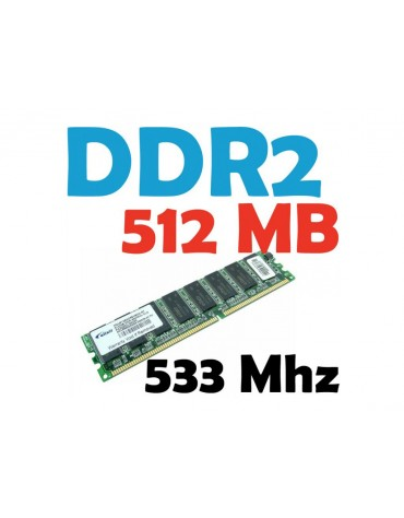 Memoria RAM 512 MB DDR2 533 Mhz PC2-4200 PC