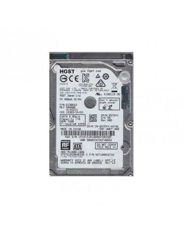 "Disco Duro 1 TB SATA 2.5"" Laptop HGST / Hitachi"