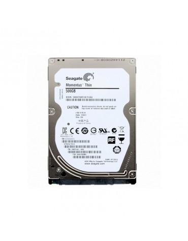 "Disco Duro 500 Gb SATA 2.5"" Laptop Seagate Slim"