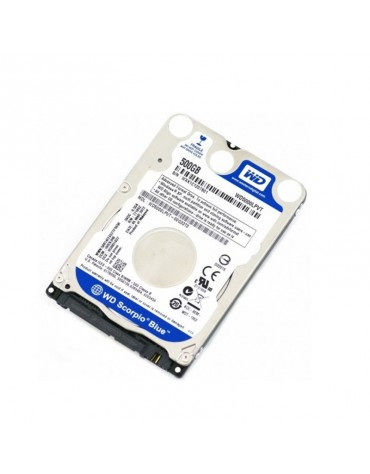 "Disco Duro 500 Gb SATA 2.5"" Western Digital Slim"