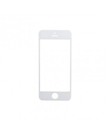 Cristal Frontal Apple iPhone 5 5S 5C Blanco