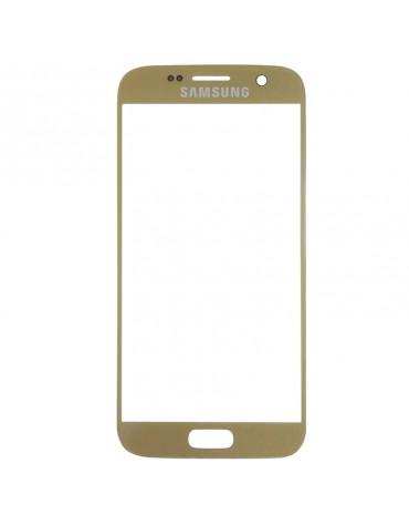 Cristal Frontal Samsung Galaxy S7 Dorado