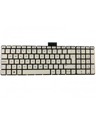Teclado HP 15-AQ 15-BK 15-AU 15-AS 15-AW 15-AX Blanco Esp