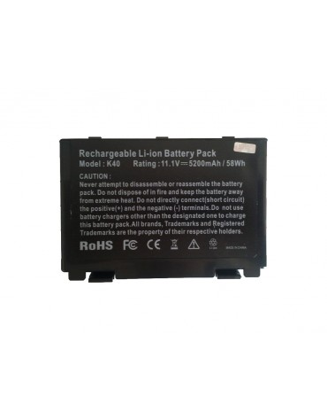 Bateria Asus K40 K50 K60 F52 F82 F83S P50 P81