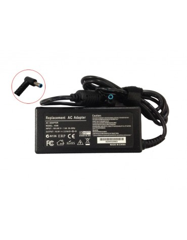 Cargador HP 19.5V 2.31A 45W Punta Azul